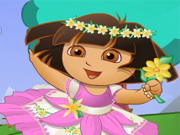 play Dora: Flower World